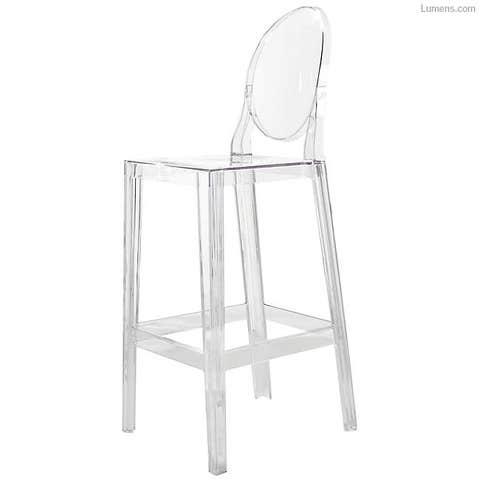 lumens one more stool acrylic