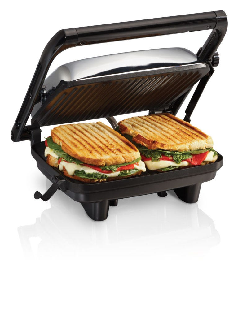 Contact grill, Panini, Toaster, Small appliance, Food, Sandwich toaster, Cuisine, Kitchen appliance, Outdoor grill rack & topper, Sandwich,