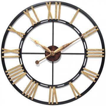 home decorators enzo wall clock