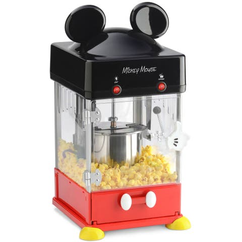"""<p> <strong><em> $99, <a href=""""http://www.kohls.com/product/prd-2351793/disneys-mickey-mouse-8-cup-popcorn-popper.jsp?ci_mcc=ci&utm_campaign=SMALL%20ELECTRICS&utm_medium=CSE&utm_source=google&utm_product=33756890&CID=shopping15&ci_src=17588969&ci_sku=33756890&gclid=CIWpg5zOqckCFQcYHwodlikBAw&gclsrc=aw.ds&dclid=CP7qjJzOqckCFZMGNwod1VgKnw"""">kohls.com</a></em></strong></p><p><strong>Best for a Mouse in the House</strong></p><p>Say hello every day to Mickey Mouse with this Disney-inspired popcorn maker. Ready to serve? Grab any of the four Mickey Mouse cups (included!), pop open the slide-out popcorn tray, and pour yourself some.</p>"""