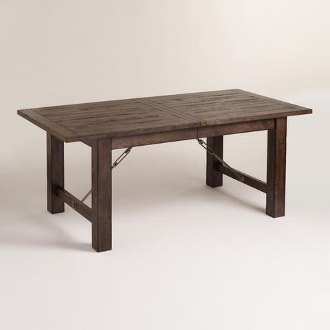 world market wood garner extension dining table