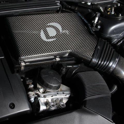 dinan bmw carbon fiber intake airbox