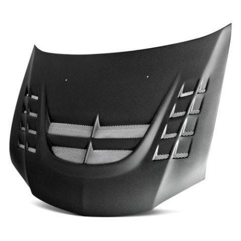 seibon vented carbon fiber hood