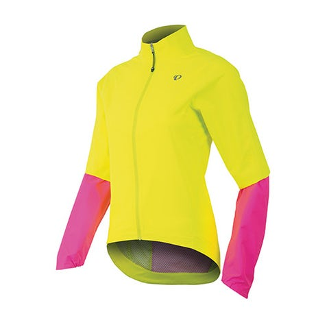 "<p><strong><em>$150, </em></strong><a href=""http://shop.pearlizumi.com/product.php?mode=view&pc_id=105&product_id=2521264&outlet=&color_code=428"" target=""_blank""><strong><em>pearlizumi.com</em></strong></a></p><p>This jacket is perfect for wet riding, as it has fully sealed and tapered seams and a waterproof front zipper. The elastic cuffs also keep any water from dripping inside the sleeves and down your arms. </p>"
