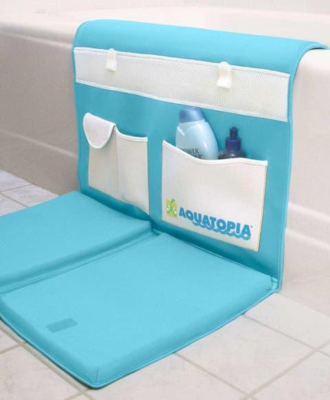 aquatopia deluxe safety easy bath kneeler blue