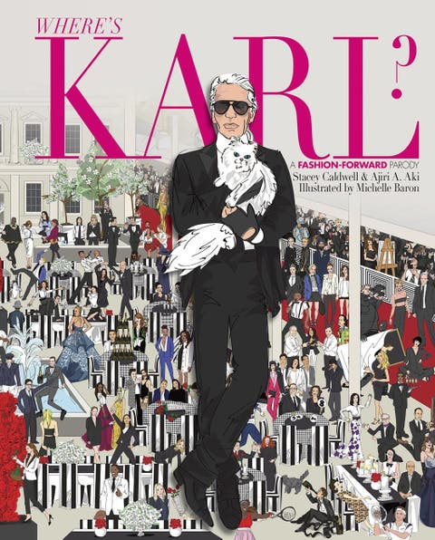 where's karl? a fashion forward parody by stacey caldwell