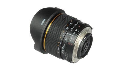 Bower 8mm Super Wide Angle f/3.5 Fisheye Lens