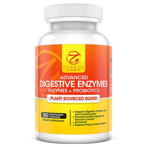 Zenwise Labs Digestive Enzymes With Probiotics