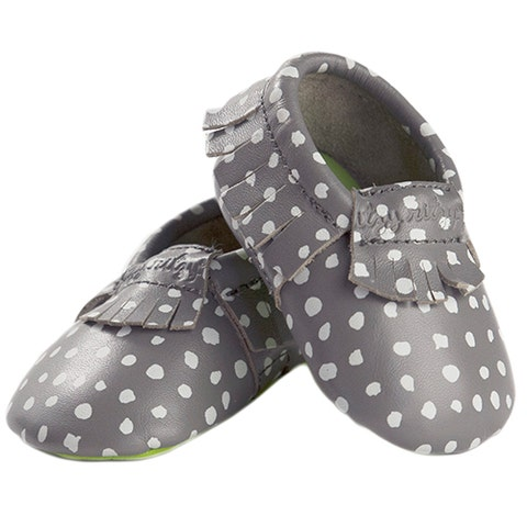 itzy ritzy moc happens ritzy dot leather baby moccasins