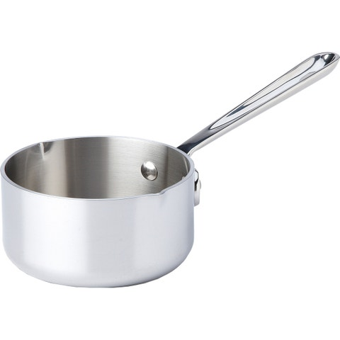 """<p><strong> <em> $70, <a href=""""http://www.chefsresource.com/all-clad-stainless-butter-warmer.html?gclid=CPOdvrSr_8oCFZMWHwodp5kCOw """" target=""""_blank"""">chefsresource.com</a></em></strong></p><p><strong>Best for Premium Versatility </strong></p><p>Bigger than standard butter warmers, this pan provides enough capacity to serve large parties. Despite having the highest price tag, the unit maintains a simple and straightforward design making it easy to pour from tableside. It's also capable of reheating sauces and small amounts of liquids in case butter is not <em>all </em>you're cooking up.</p><p><strong>More:</strong> <a href=""""http://www.bestproducts.com/eats/tabletop/g1044/paper-towel-holders-dispensers/"""" target=""""_blank"""">Paper Towel Holders to Wipe Your Buttery Hands Off in Style</a><br></p>"""