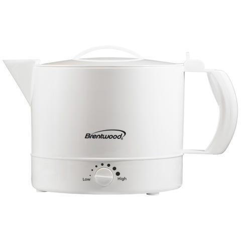 Brentwood Ounce Plastic Hot Pot