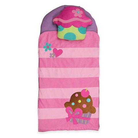 stephen joseph pink cupcake nap mat