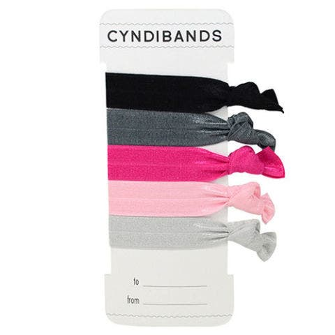 Cyndibands Shea Pink Black Hair Ties