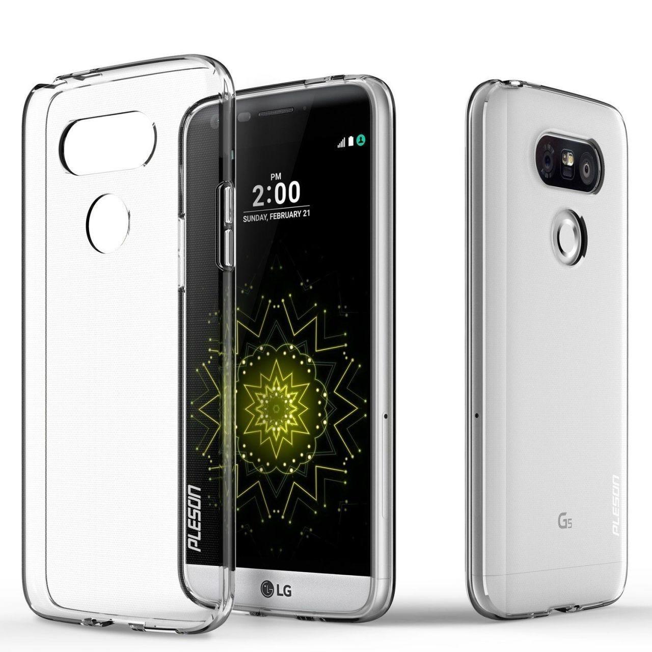 Pleson Crystal Clear Case LG G5