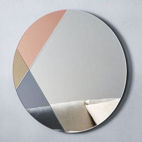 "<p><strong><em>$129, </em></strong><strong><em><a href=""http://www.westelm.com/products/colorblocked-mirror-round-w2266/"" target=""_blank"">westelm.com</a></em><a href=""http://www.westelm.com/products/colorblocked-mirror-round-w2266/"" target=""_blank""></a></strong><a href=""http://www.westelm.com/products/colorblocked-mirror-round-w2266/"" target=""_blank""></a> </p><p>Part mirror, part art piece — this frameless pick flawlessly mixes metallics to accent your space in an unexpectedly new way. </p><p><strong>More: </strong><a href=""http://www.bestproducts.com/home/decor/g1444/hanging-mobile-art/"" target=""_blank"">11 Mesmerizing Mobiles to Delight the Kid in All of Us</a></p>"