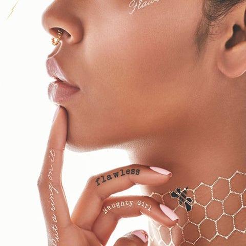 Flash Tattoos Beyonce X Flash Tattoos
