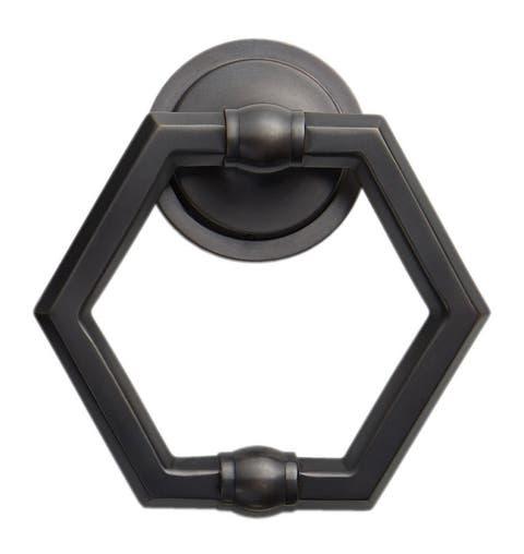 Rejuvenation Hexagon Door Knocker