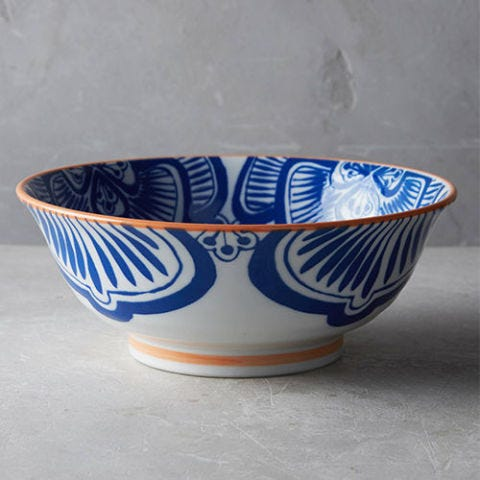 Anthropologie Blue and White Bowl