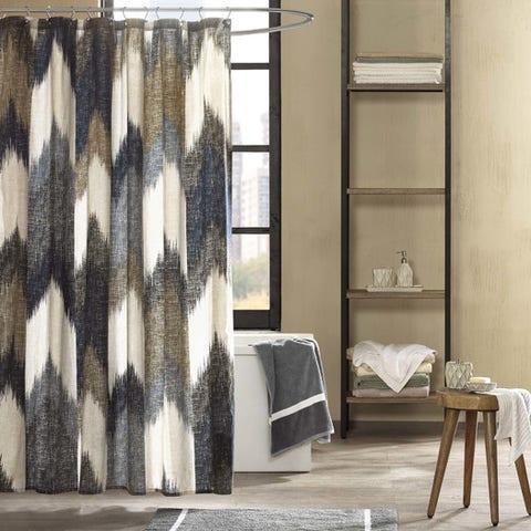 Ink + Ivy Alpine Cotton Shower Curtain