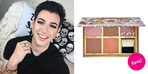 """<p><strong><a href=""""https://www.youtube.com/watch?v=Qdn3pMABJeI"""" target=""""_blank"""">Manny MUA</a>'s Favorite Product: <br>Benefit Cosmetics Cheekathon Blush & Bronzer Palette<br><em>$58 </em></strong><em><strong><a href=""""http://www.sephora.com/cheekathon-blush-bronzer-palette-P405573"""" target=""""_blank"""" class=""""slide-buy--button"""">BUY NOW</a></strong><br></em> </p><p><strong>What: </strong>A beneficial collection that's downright cheeky, the brand marries its best-selling blushes and bronzers for an all-in-one palette. Offering up your faves in full-sized squares, flaunt each powder solo or pair together for a fleeky contour and highlight. </p><p><strong>Why:</strong> """"This is bomb. Five full-size powders: Dandelion, Hoolah,  Rockateur, Dallas, Coralista, you get a little brush! It's literally worth $145, but it's only 58 bucks! It's such a high value. Look at it. It's so pretty.""""</p>"""