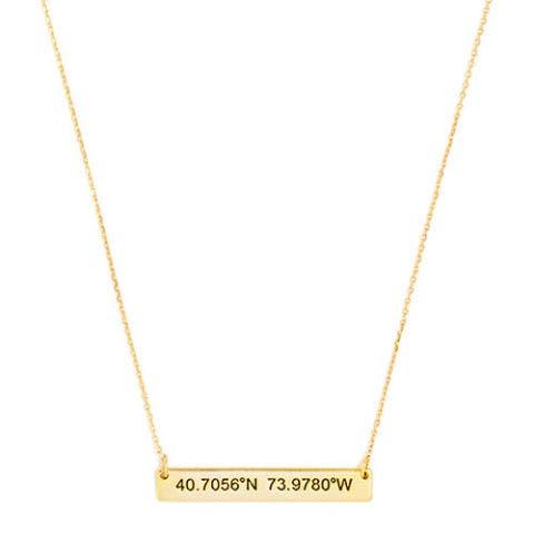 baublebar coordinates bar pendant necklace