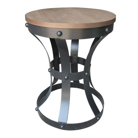 Madison Park Linden Rustic Table