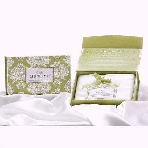 Sleep 'N Beauty 100% Silk Pillowcases
