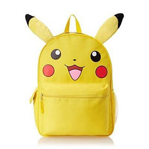 """<p><strong><em>$18</em></strong> <a href=""""https://www.amazon.com/Pokemon-Pikachu-Canvas-Backpack-Plush/dp/B00WH5NXRI?tag=bp_links-20"""" target=""""_blank"""" class=""""slide-buy--button"""">BUY NOW</a></p><p>Store all of your proverbial Pokeballs in this backpack as you catch and train Pokemon throughout your city. What better way to play the game than with a Pikachu sidekick on your back!</p><p><strong>More: </strong><a href=""""http://www.bestproducts.com/tech/electronics/g235/best-video-game-consoles-systems/"""" target=""""_blank"""">Upgrade Your Video Game Consoles With These Top Picks</a></p>"""