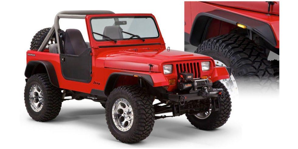 jeep fender flares