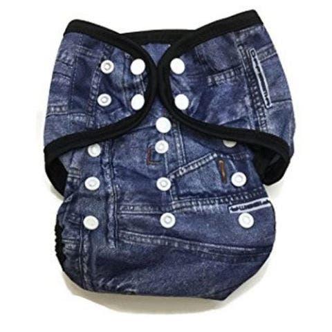 Denim Cloth Diaper