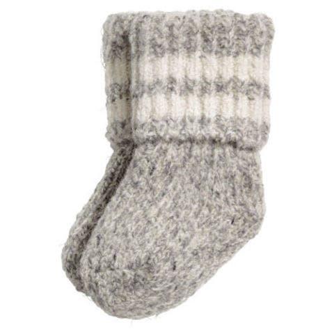 Wool Blend Baby Sock