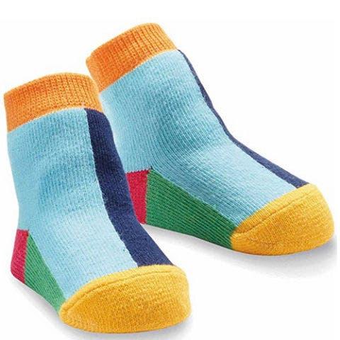 Mudpie Baby Block Socks