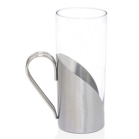 9 oz. Stainless Steel Tall Glass Mug by Front Of The House