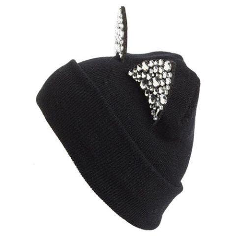 tasha crystal cat ear black beanie
