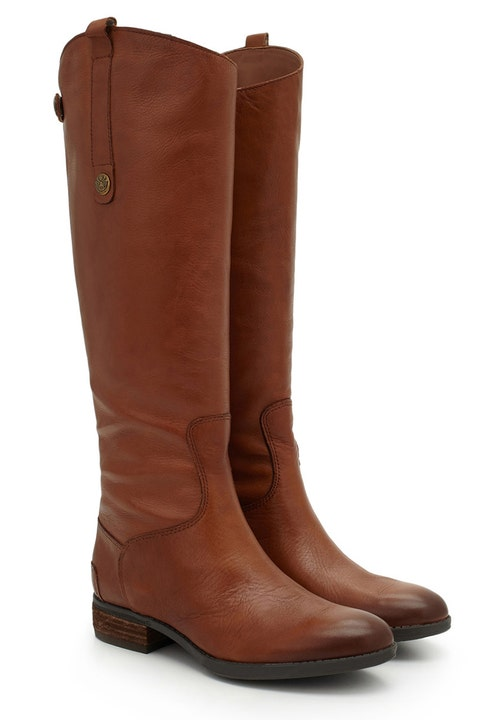 sam edelman penny brown leather riding boots