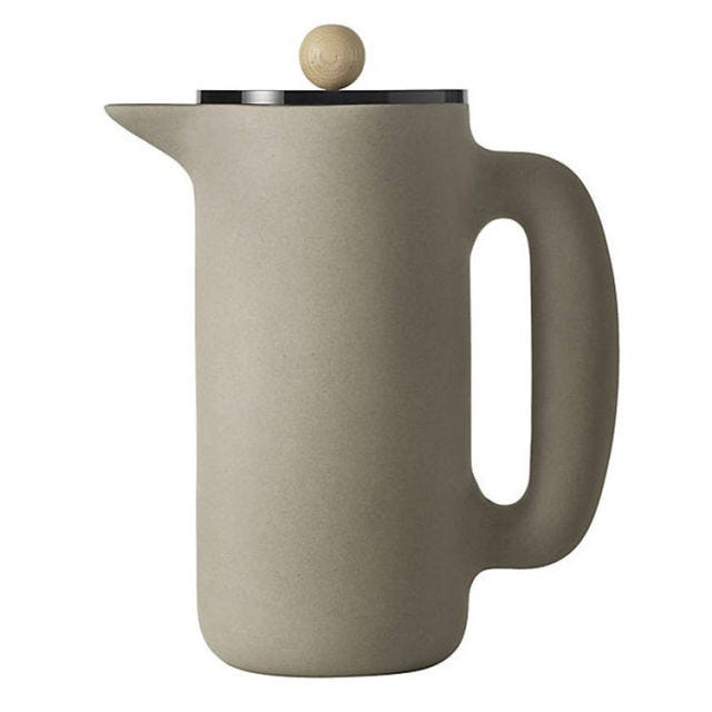 Mette Duedahl for Muuto Push Coffee Maker