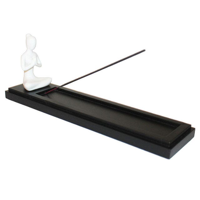 Seraphic Yoga Prayer Pose Namaste Incense Burner/Holder