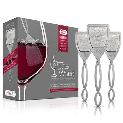 Keep Wine Hangovers, Headaches, and Redness Away With the Wand by Purewine