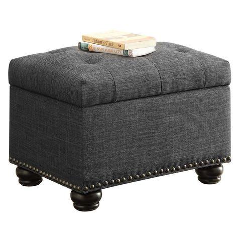 Convenience Concepts Designs-4-Comfort 5th Avenue Storage Ottoman