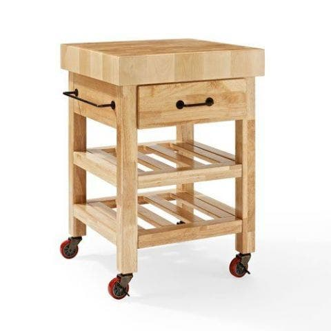 Crosley Marston Butcher Block Kitchen Cart