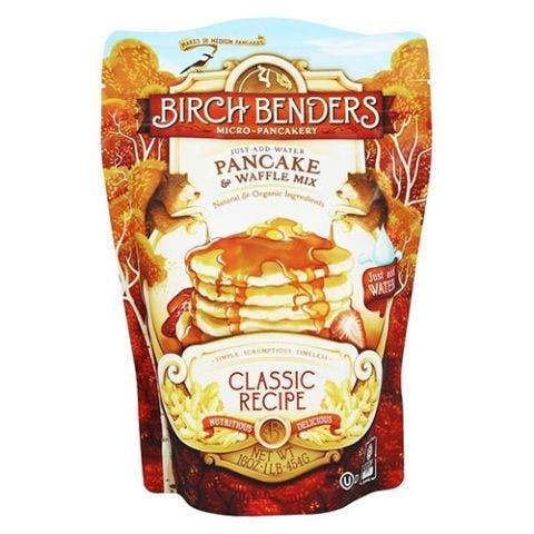 Birch Benders Micro-Pancakery Pancake & Waffle Mix Classic Recipe