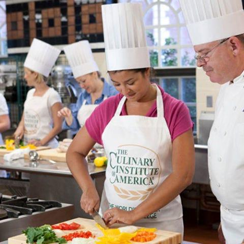 Culinary Institute of America cooking class