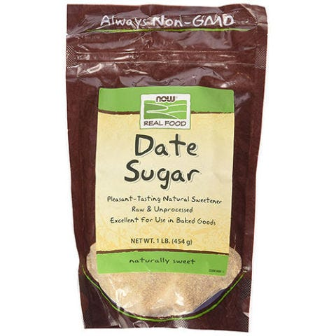 NOW Foods Date Sugar