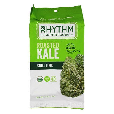 Rhythm Superfoods Chili Lime Roasted Kale Chips