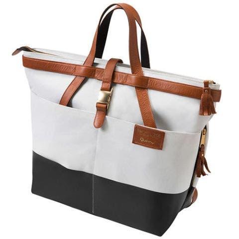 Rachel Zoe 'Jet Set' Canvas Diaper Bag by Quinny
