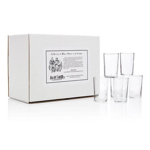 "Italian ""Bàcaro"" Stemless Wine Glasses"