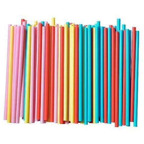 SIP n' JOY Assorted Colors Smoothie Straws