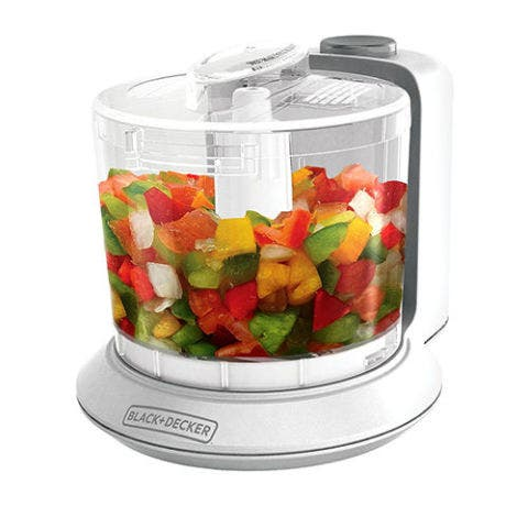 BLACK+DECKER One-Touch 1.5 Cup Capacity Electric Chopper
