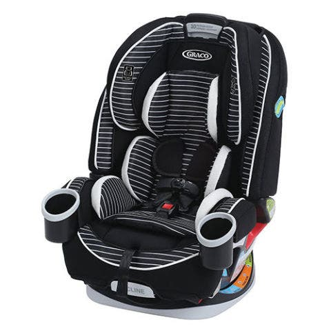 Graco Striped Convertible Car Seat