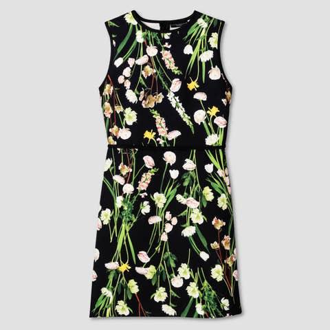 Yellow, Green, Textile, Pattern, Dress, One-piece garment, Day dress, Design, Pattern, Fashion design,